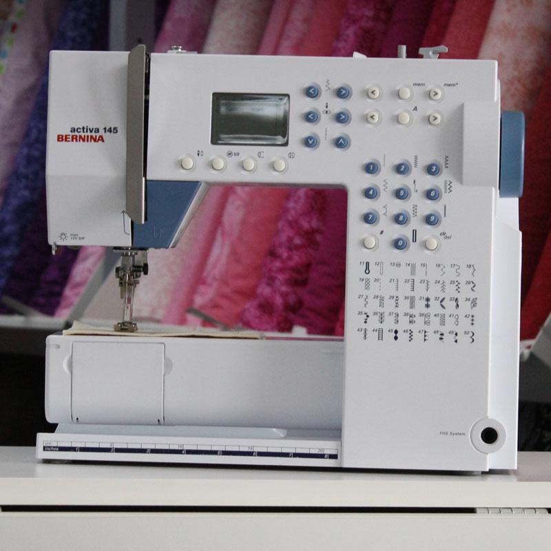 PreLoved Bernina Activa 40 Sewing Machine Shepparton Sewing Centre Amazing Bernina Activa 145 Sewing Machine