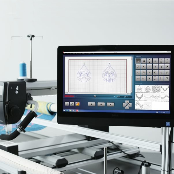 Bernina Q Matic Longarm Quilting Automation System Shepparton