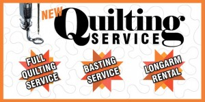 Quilting Service #1